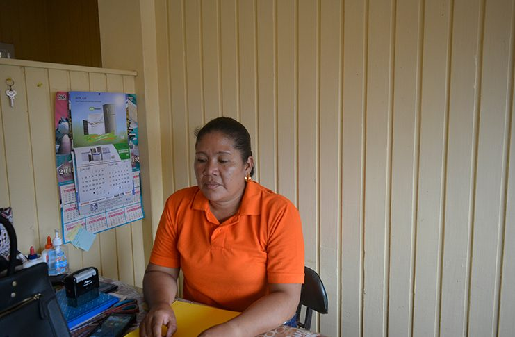 ASSISTANT Regional Executive Officer (AREO) of the Moruca Sub-Region, Region One, Rennita Williams