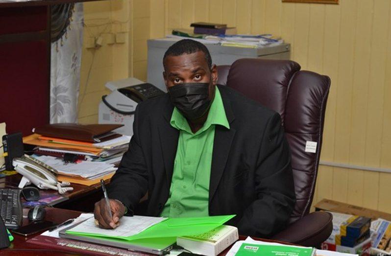 Region 10 Regional Chairman, Deron Adams
