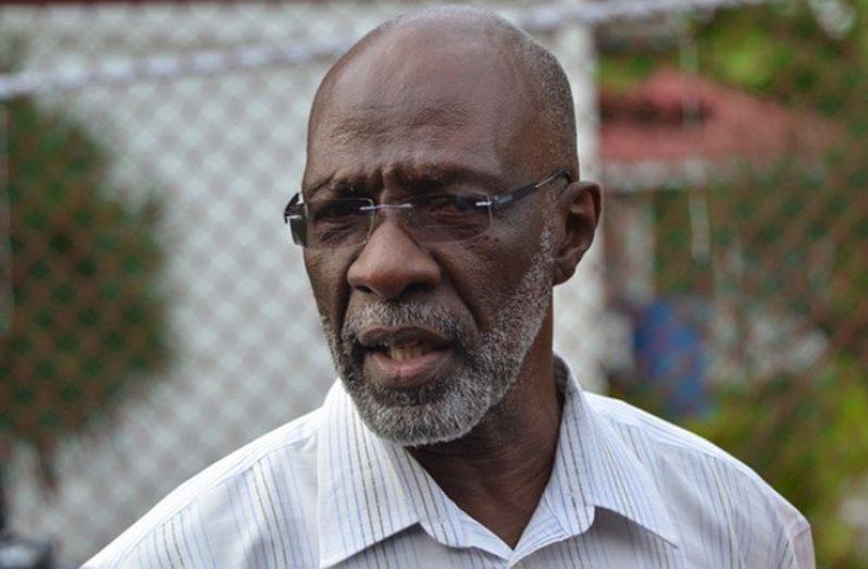 GECOM Commissioner Vincent Alexander