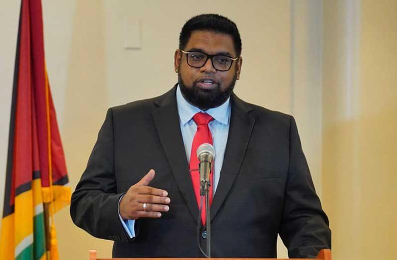 President Dr. Irfaan Ali