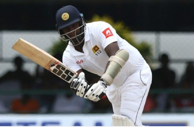 Sri Lanka allrounder Angelo Mathews