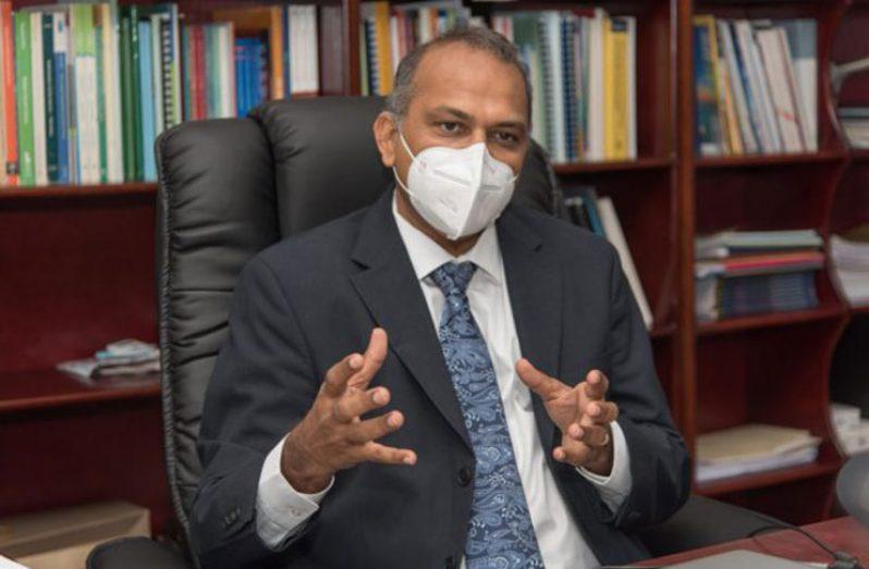 Health Minister, Dr Frank Anthony