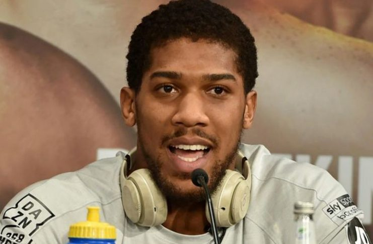 Anthony Joshua's next heavyweight fight could be delayed. (AFP Photo/Fayez Nureldine)