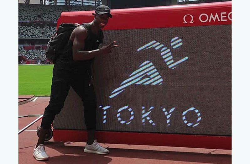 Guyana's Emanuel Archibald will compete in the Men's 100 metres in Tokyo, Japan.