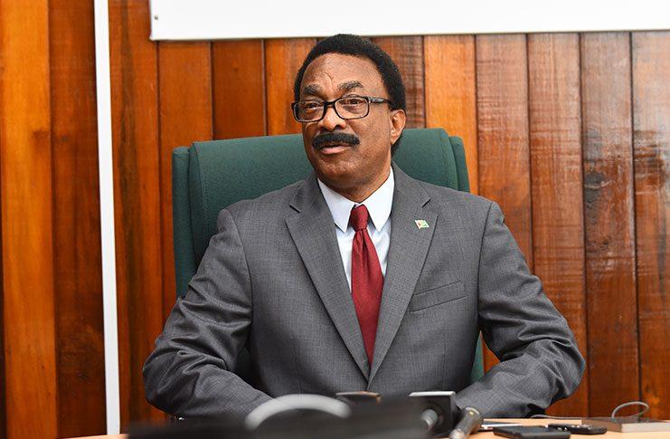 Attorney-General Basil Williams