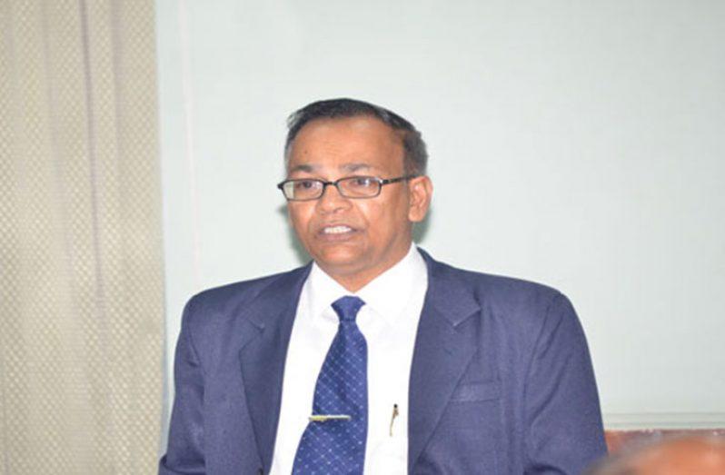Auditor-General, Deodat Sharma