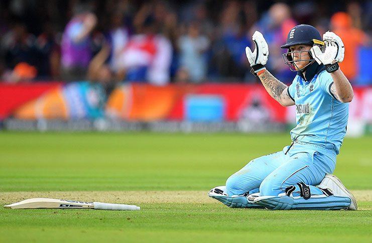 England get freak six runs after incredible Stokes deflection