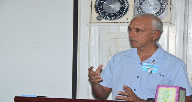 Minister of Communities Ronald Bulkan