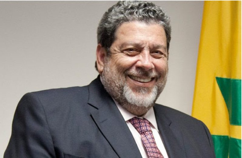 Chairman of the Caribbean Community (CARICOM), Dr. Ralph Gonsalves