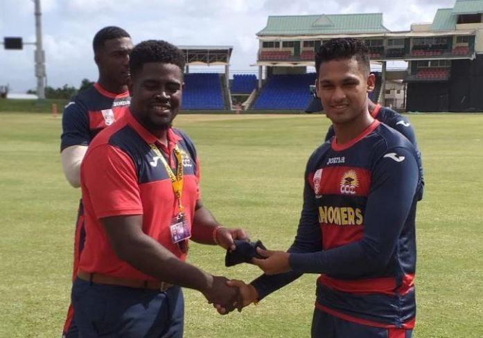 Flashback! Akshaya Persaud receiving his CCC cap in 2019
