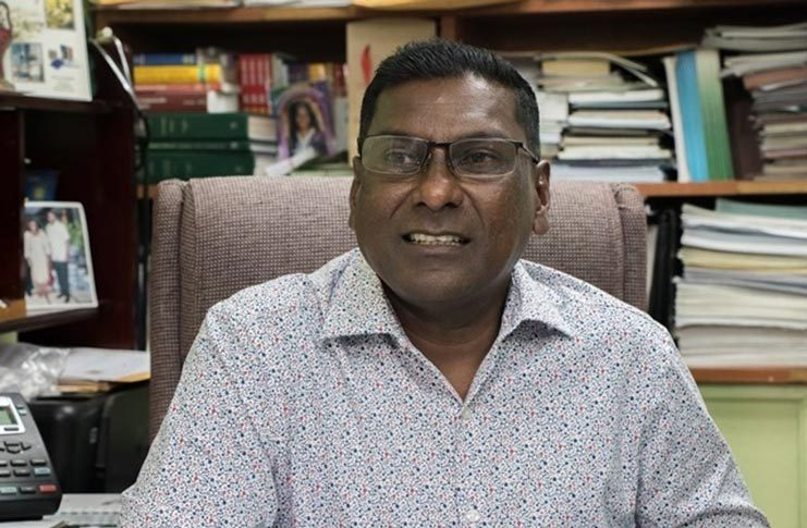 Chief Medical Officer, Dr. Shamdeo Persaud