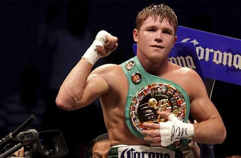WBA Best Boxer of the Year Saul Alvarez Canelo
