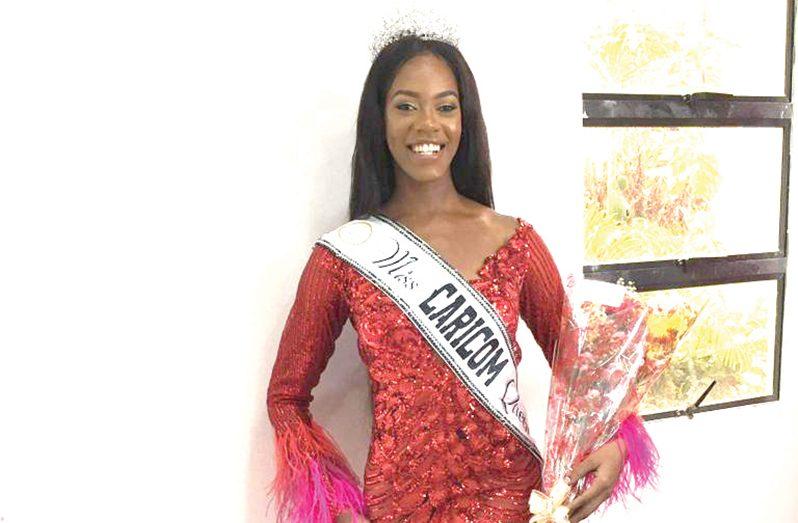 Miss Caricom 2020, Ederle Stephen