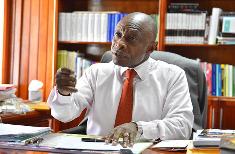 Guyana's Agent in the Guyana-Venezuela border controversy, Carl Greenidge