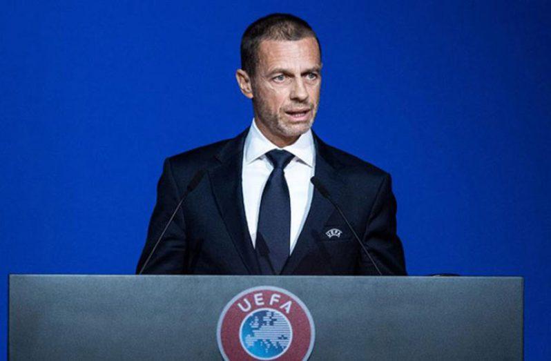 UEFA, president Aleksander Ceferin