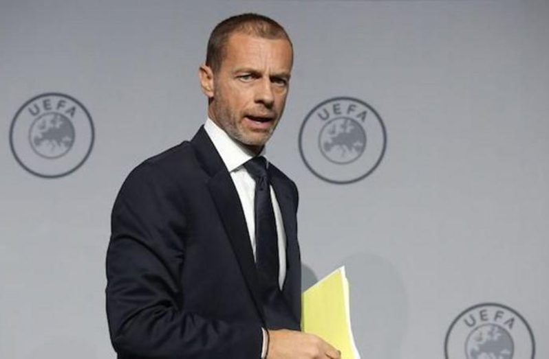Aleksander Ceferin has been UEFA president since 2016