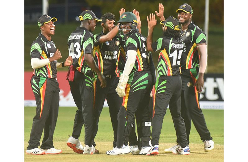 The Guyana Jaguars Celebrate