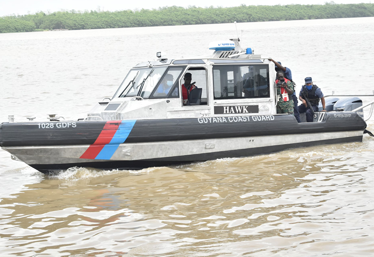 GDF Coast Guard vessel (File photo)