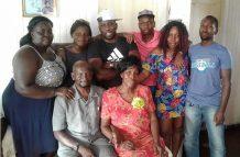 Hubert Muesa and his family