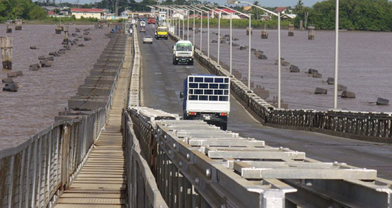The Demerara Harbour Bridge