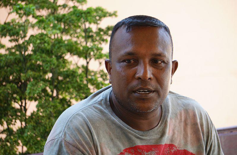 Fisherman Amarnauth Hemraj