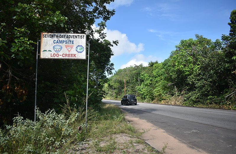 Village signage (Carl Croker photos)
