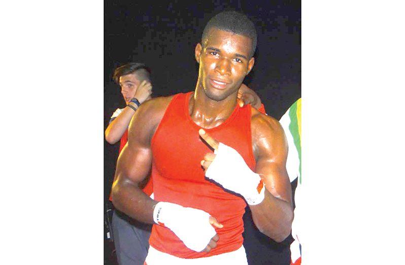 National light heavyweight champion Denis Thomas