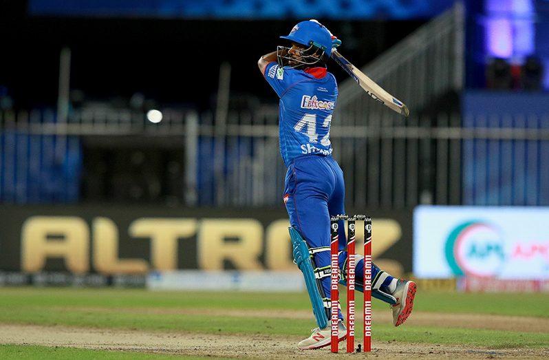 Shikhar Dhawan's attacking fifty kept the chase ticking, Delhi Capitals vs Chennai Super Kings, IPL 2020, Sharjah, October 17, 2020.