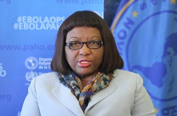 PAHO Director, Dr Carissa Etienne