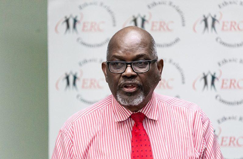 ERC Chairman, Mr. John Smith