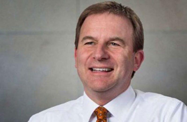 ExxonMobil's Senior Vice-President, Neil Chapman