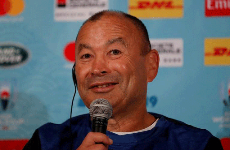 England Team Announcement - Keio Plaza Hotel, Tokyo,  - England head coach Eddie Jones during the press conference. REUTERS/Peter Cziborra
