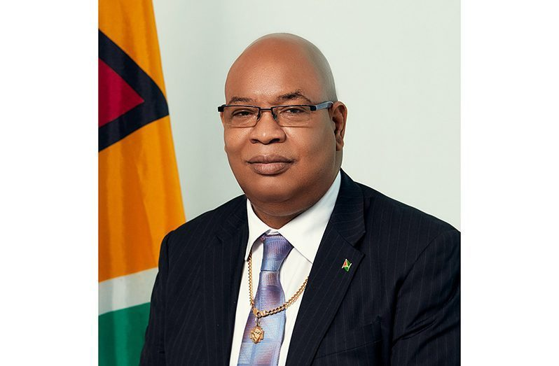 Current Minister of Public Works Juan Edghill