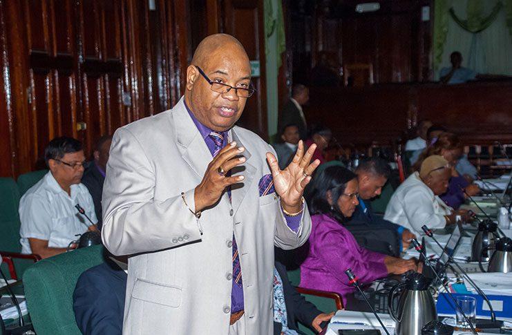 Opposition Parliamentarian Bishop Juan Edghill