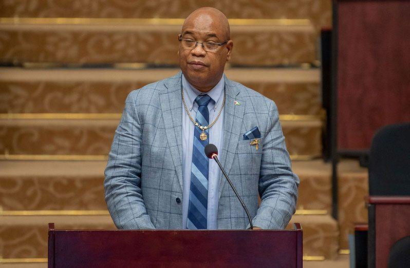 Public Works Minister, Juan Edghill