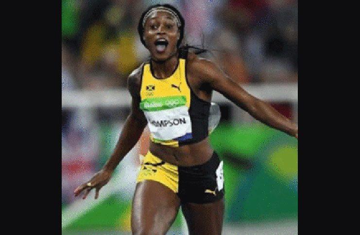 Olympic double sprint champion Elaine Thompson