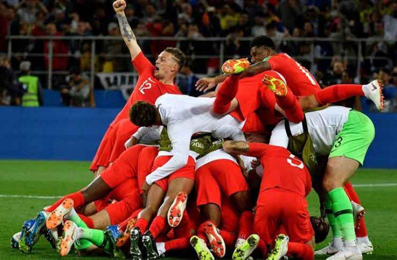 FINALLY! England beat Colombia on penalties. (Sky News photo)