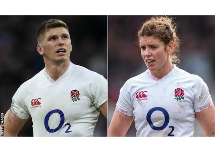 England lead the men's and women's 2020 Six Nations tournaments.
