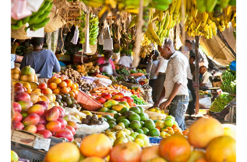 A market (CARICOM photo)