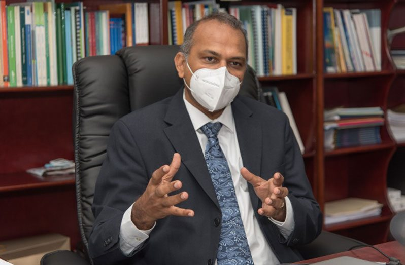 Health Minister Dr. Frank Anthony