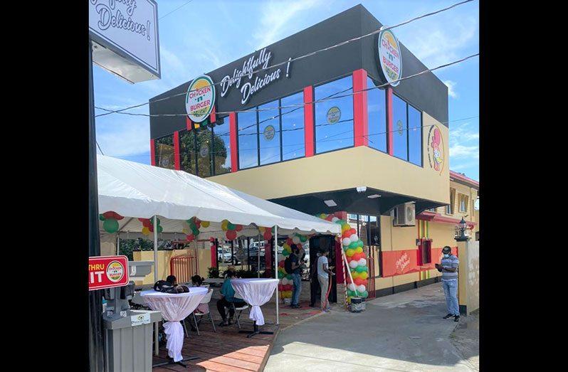 Chicken n Burger Delight opens its second branch at Leonora, West Coast Demerara