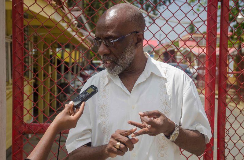 Commissioner Vincent Alexander (Delano Williams photo)