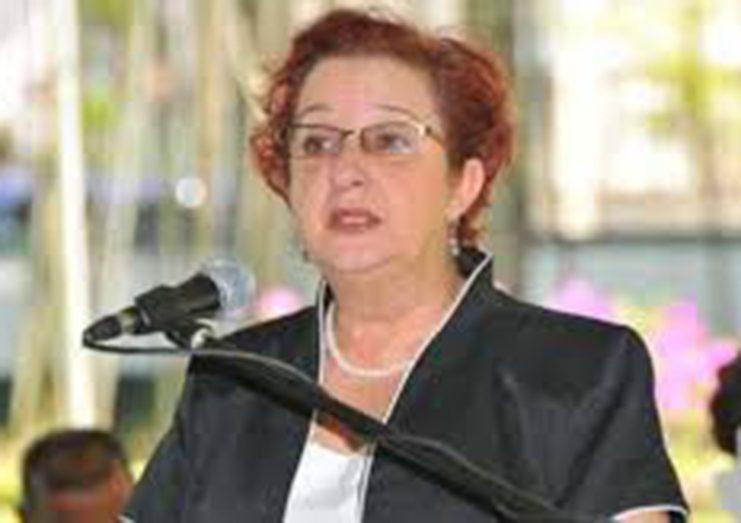 Minister of Parliamentary Affairs and Governance, Gail Teixeira