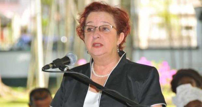 Former Presidential Advisor on Governance under the PPP administration, Gail Teixeira