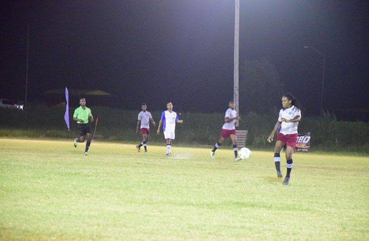 Northern Rangers in action against GFC