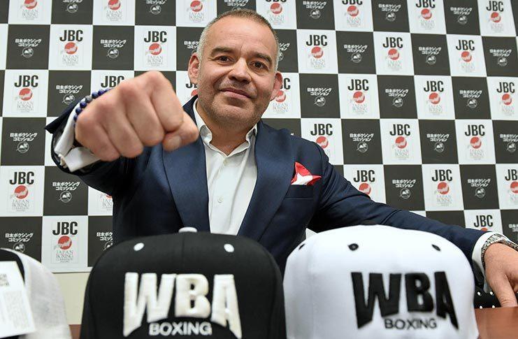 WBA president Gilberto Jesus Mendoza
