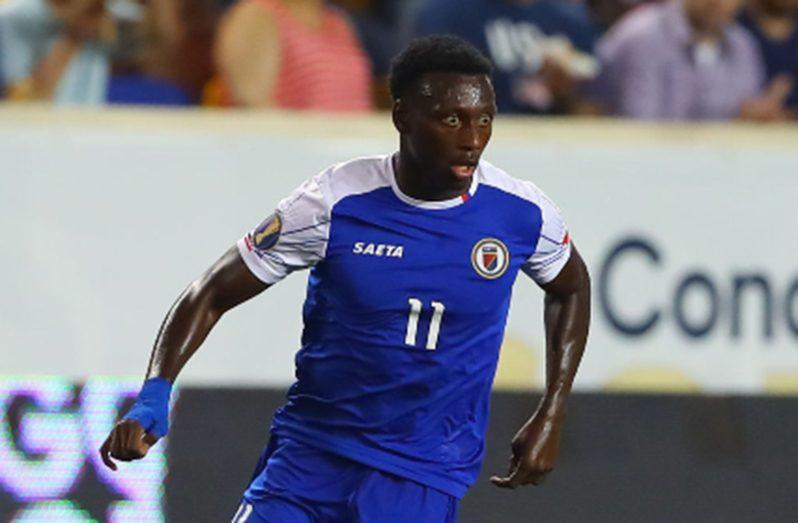 Derrick Etienne's goal put Haiti into the second round.