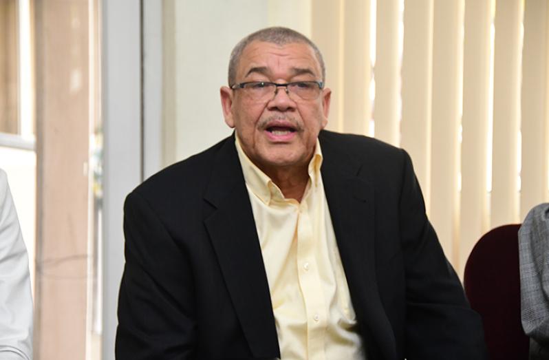 GRA Commissioner General, Godfrey Statia