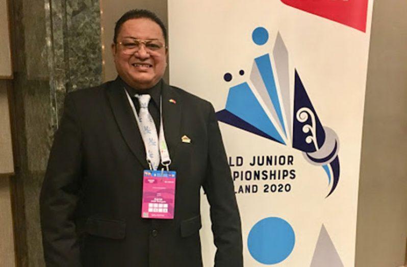 GBA president Gokarn Ramdhani