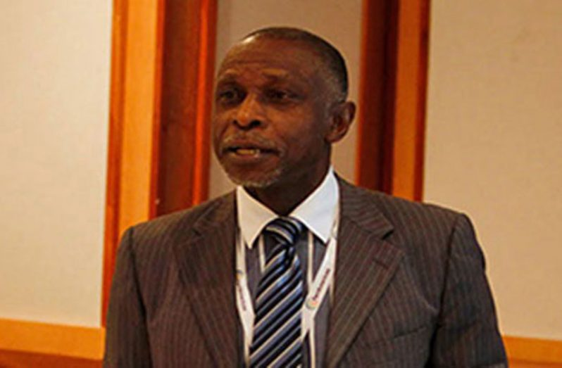 Vice-President and Minister of Foreign Affairs, Mr Carl Greenidge